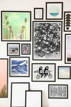Black Matte Art Print Frame