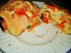 Receta de Pan relleno de verduras