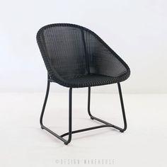 Breeze Outdoor Dining Arm Chair (Black) | Design Warehouse NZ