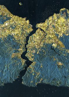 istanbul from space! via infinity imagined.