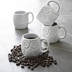 @Clarissa Recato I think we need to make trip to pick some of these up!   Owl Espresso Mug | west elm