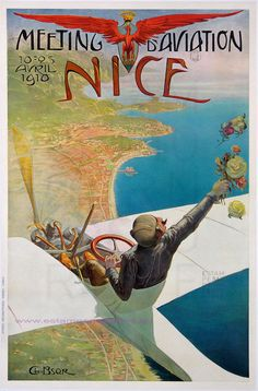 Bsor 1910 Meeting D Aviation Nice 73X106 imp Robaudy Cannes | Flickr - Photo Sharing!