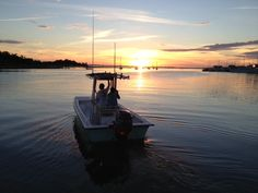 Sunset Morehead City waterfront