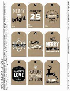 Imprimolandia: Etiquetas de Navidad (1)