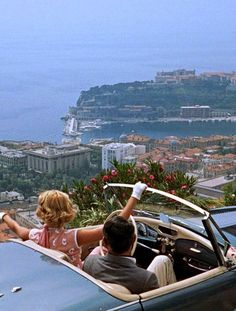To Catch a Thief: Grant and Kelly Everything about this movie is gorgeous. Makes me want to see France with you too.