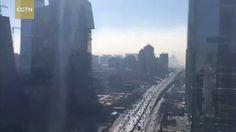 Beijing cloud of smog in 20 minutes