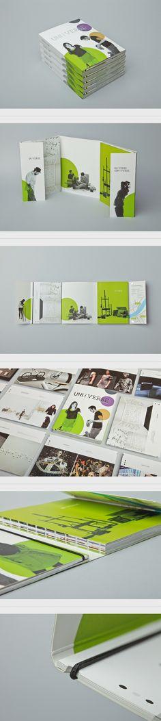 UNI:VERSE 2011 by Letitia Lehner, via Behance