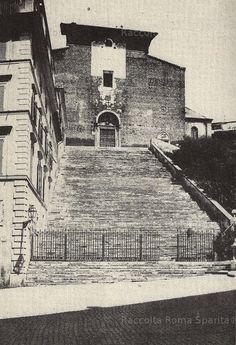 Basilica di Santa Maria in Ara Coeli Anno: 1880 Santa Maria, Rome, Louvre, City, Building, Travel, Memories, Italia, Antique Post Cards