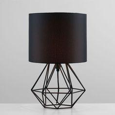 jonas brown copper wire table lamp he lighting pinterest rh pinterest com