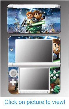 Star Wars 3D Jedi Obi Wan Anakin Yoda Toy Video Game Vinyl Decal Cover Skin Protector for Nintendo 3DS XL #Star #Wars #3D #Jedi #Obi #Wan #Anakin #Yoda #Toy #Video #Game #Vinyl #Decal #Cover #Skin #Protector #Nintendo #3DS #XL