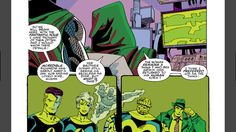 The return of the Fantastic Four does not go unnoticed by Doctor Doom