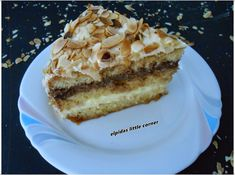 "Elpida's Little Corner!: "" Η Τούρτα "" Greek Sweets, Greek Desserts, Party Desserts, Greek Recipes, Mumbai Street Food, My Best Recipe, Cooking Recipes, Lunch Recipes, Deserts"