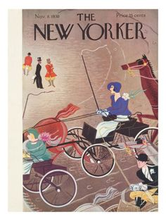 The New Yorker Cover - November 8, 1930 Premium Giclee Print