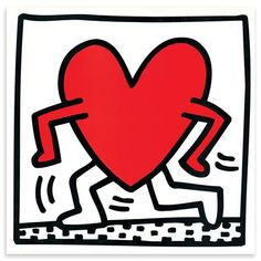 HARING Untitled 1984 de Pop Art