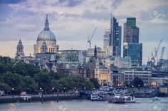 Thames Cranes Stock Photos, Pictures, Royalty Free Thames Cranes ...