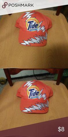 differently 82809 37c75 Tide nascar hat Tide nascar vintage orange snapback hat. Very rare!!! tide