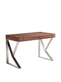 Casabianca York Office Desk (Walnut Veneer)