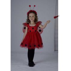 Disfraces de mariquitas - Imagui Lady Bob, Ladybug Costume, Dance Costumes, Old Women, Harajuku, Little Girls, Kids Outfits, Party Dress, Dress Up
