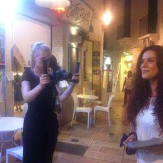 Making the video Taksim Accordion Netherlands