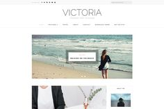 [BIG SALE] Victoria - Blog Theme by DannyWordPress on @creativemarket