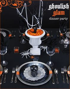 Ghoulish Glam Halloween