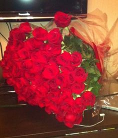 Love red roses