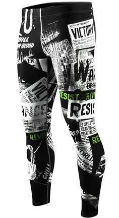 Men's sports leggings Compression Pants