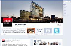 Spiegel Online About Facebook, Spiegel Online, Corporate, Facebook Timeline, Best Practice, Central Europe, Germany, Messages, Psychics