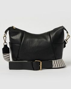 The Azure Crossbody byUrban Originals has a boho slouchy silhouette with plenty of outside pockets. Made with natural textured vegan leather featuring a webbing handle with a vegan leather section. Vegan Handbags, Vegan Leather, Boho Chic, Classy, Urban, The Originals, Handle, Pockets, Chic