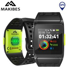 GPS SPORTS Watch Smart Watch Bluetooth 4.2 Color Screen Multisport Smartwatch. Built-in GPS, IP67 Waterproof Level, Multiple Running Modes, Maximize your efforts with dynamic heart rate monitoring, Heart Rate Warning, HRV + ECG, Incoming call remind & Messages notification,