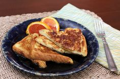 This is a classic, basic French toast recipe with eggs, milk, and bread. Serve French toast with butter and maple syrup.