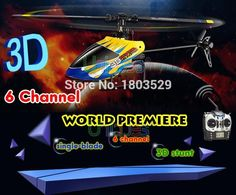 Hot Sell 6050 RC Radio Remote Control Toys Helicopter 2.4GHz 3-Axis Gyro 6CH 3D Stunt King electric rc helicopter model toy
