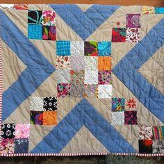 Picnic Cross blanket via Craftsy