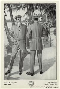 """Entre los Everglades, Palm Beach:. El """"Benjamín"""" Norfolk, adelante y atrás (1912)"""