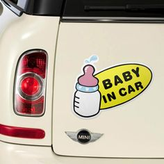 Find More   Information about car stickers baby in car 13X20cm Cute baby bottle pictures auto supplies baby care Outdoor reminder to take care of babies,High Quality  ,China   Suppliers, Cheap   from Your 529354 onhttp://www.aliexpress.com/store/product/13X20cm-Cute-baby-bottle-pictures-car-stickers-baby-in-car-auto-supplies-baby-care-Outdoor-reminder/529354_1736445208.html