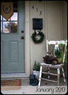 Entrance Decor Idea
