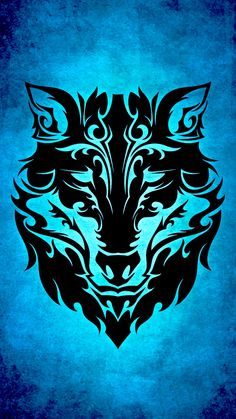 Customize your iPhone 6 with this high definition Tribal Wolf wallpaper from HD Phone Wallpapers! Tribal Lobo, Arte Tribal, Tribal Art, Tribal Wallpaper, Wolf Wallpaper, Wolf Tattoo Design, Wolf Tattoo Tribal, Tattoo Wolf, Wolf Design