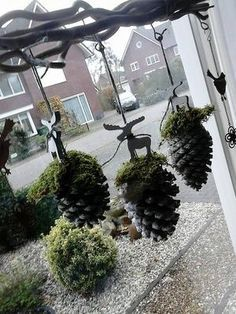 Diy Fall Crafts diy craft ideas for fall Noel Christmas, Rustic Christmas, Winter Christmas, Christmas Wreaths, Christmas Christmas, Christmas Windows, Advent Wreaths, Nordic Christmas, Spring Wreaths