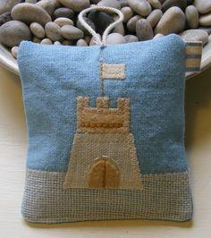 Sandcastle Lavender Bag by Loula-Bells