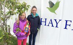 Sky and Kia Ballantyne at the Hay Festival 2015 Culture, Fashion, Moda, La Mode, Fasion, Fashion Models, Trendy Fashion