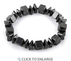 Hematite Magnetic Gemstone #Bracelet  * $2.19
