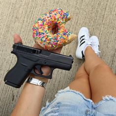 #Reposting @j.j.austin -- Saturday vibes. #tacticalDonut #funkytowndonuts #adidas #adidassuperstar #clipdraw #glock42 #380  #concealedcarry #EDC  #concealment #gunsdaily #girlsthatshoot #gungals #girlswithguns  #girlsandguns #babesandguns #subcompact #everydaycarry #igmilitia #gunporn #secondamendment #texas #fortWorth #ltc