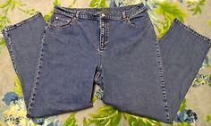 Ralph Lauren Jeans Women's Plus Size 16W Dark Blue Jeans