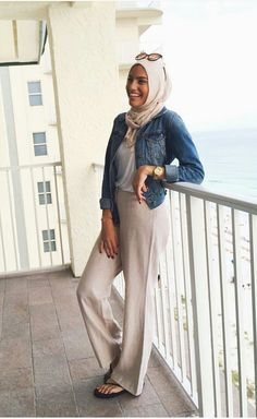 Hijab Fashion, Autumn, Stylish, Blouse, Summer, Pants, Blouse Band, Trouser Pants, Summer Time