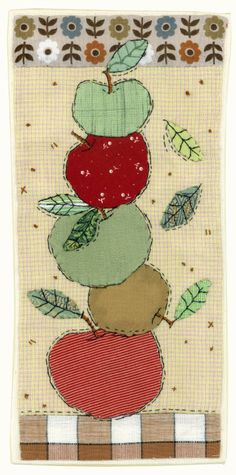 Apple stack by Sharon Blackman