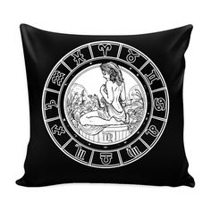 VIRGO Zodiac Pillow Cover by ProsperousJewels on Etsy