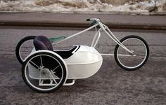 Bicycle with a sidecar #tricycle #cycling