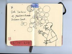 moleskine notebook ink 2013