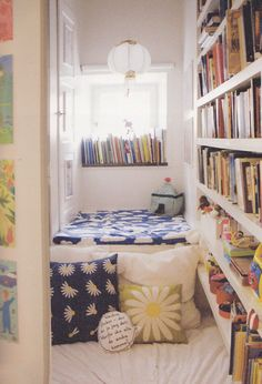 Child's reading nook (Children's Rooms: Stockholm from PAUMES Publishing).... This is perfect even for the adults!