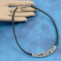 Approx: 66mm long, 12mm wide, 9.5mm thick, oval hole: 5.5mm x 4mm Finish: Antiqued silver plate Base Metal: Tibetan silver style Alloy, lead free New Zealand design.